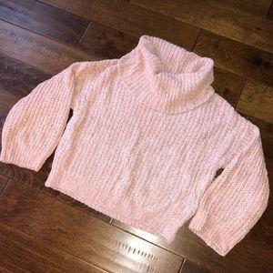Chenille Turtleneck Sweater (x-small)